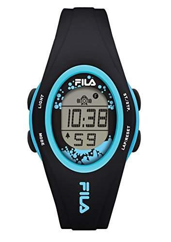 FILA Unisex-Armbanduhr Digital Quarz 38-050-104 FILACASUAL Schwarz Blau Plastik