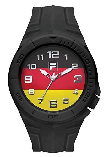 FILA Unisex-Armbanduhr Fan Sport 38-072-005 FILACASUAL Deutschland Fahne Fanartikel