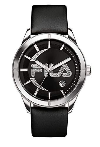 FILA Damenuhr-Armbanduhr Fashion Quarz 38-079-001 FILASHION Schwarz