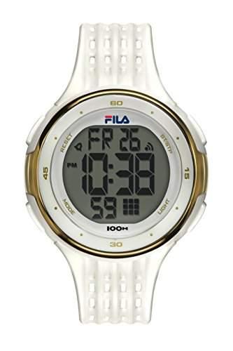 FILA Unisex-Armbanduhr Digital Quarz 38-093-002 FILACTIVE Weiss Plastik