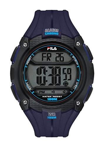 FILA Unisex-Armbanduhr Digital Quarz 38-094-002 FILACTIVE Blau Plastik