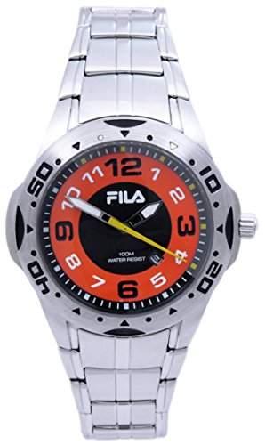 Fila Herren-Armbanduhr Analog Quarz Edelstahl 645221