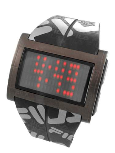 Fila Herren-Armbanduhr Digital Quarz Plastik 773030-W