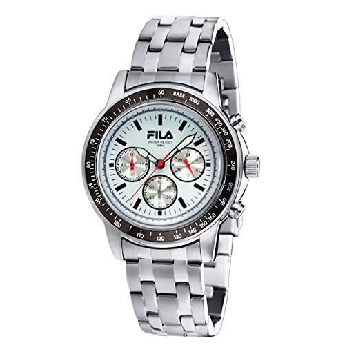 Fila Herren-Armbanduhr Chronograph Quarz Edelstahl FA0783-25
