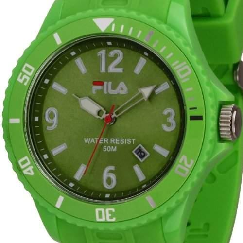 Original FILA analoge Armbanduhr Quarzuhr gruen FA-1023-39