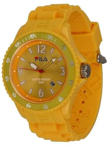 Fila Unisex-Armbanduhr Analog Quarz Gelb FA-1023-61