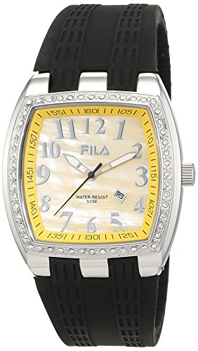 Fila Damen Armbanduhr Analog Quarz Kautschuk FA 641247