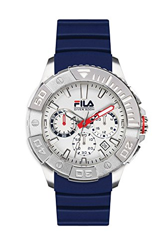 Fila Diving Blue Analog Dial Mens Watch 38 040 001