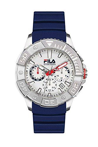 Fila Diving Blue Analog Dial Mens Watch 38 040 001
