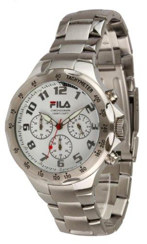Fila Herren Armbanduhr Chronograph Quarz Edelstahl FA0795 33