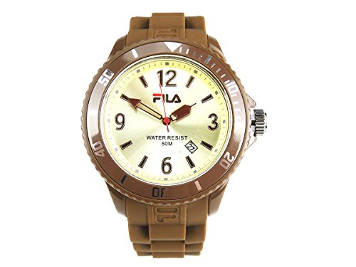 Fila Uhr FA1023 G1 BR Groesse one size Farbe Braun