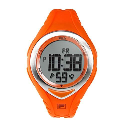 FILA Unisex-Armbanduhr Digital Quarz 38-024-006 FILACASUAL Orange Plastik