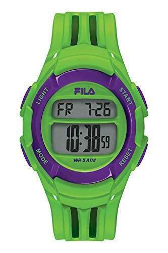 FILA Unisex-Armbanduhr Digital Quarz 38-048-002 FILACASUAL Gruen Plastik