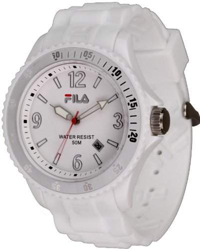Fila Unisex-Armbanduhr Analog Quarz Weiss FA-1023-62