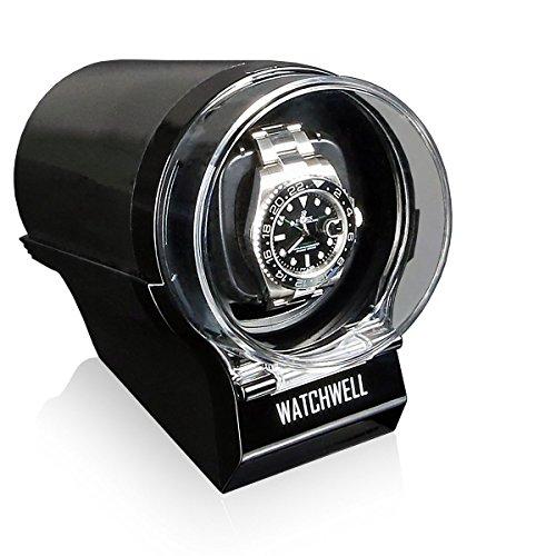 Watchwell Uhrenbeweger Devo schwarz schwarz