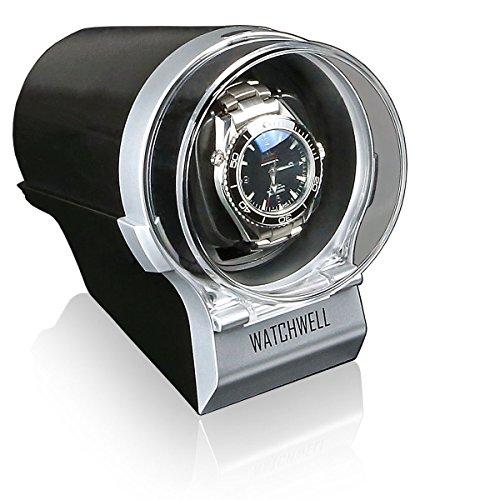 Watchwell Uhrenbeweger Devo Silber schwarz