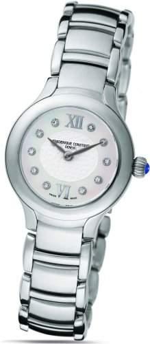 Frederique Constant Geneve Delight FC200WHD1ER6B Elegante Damenuhr mit echten Diamanten