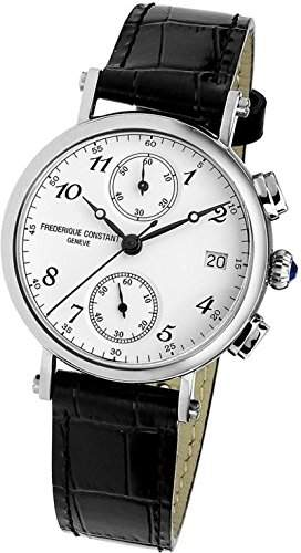 Frederique Constant Geneve Classics Chrono FC-291A2R6 Damenchronograph Klassisch schlicht