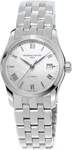 Frederique Constant Geneve Index Automatic FC-303MPWN1B6B Damen Automatikuhr Perlmutt Ziffernblatt