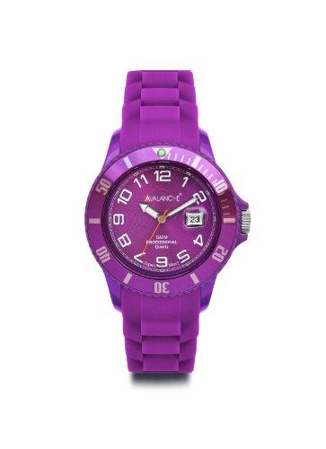 Avalanche Watch Unisex Armbanduhr Analog Plastik violett AV 100S VT 44