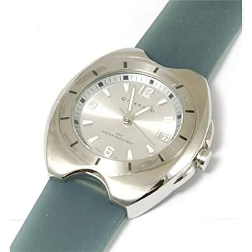 GIORDANO -1054-2 Graue Uhr mit Kalender