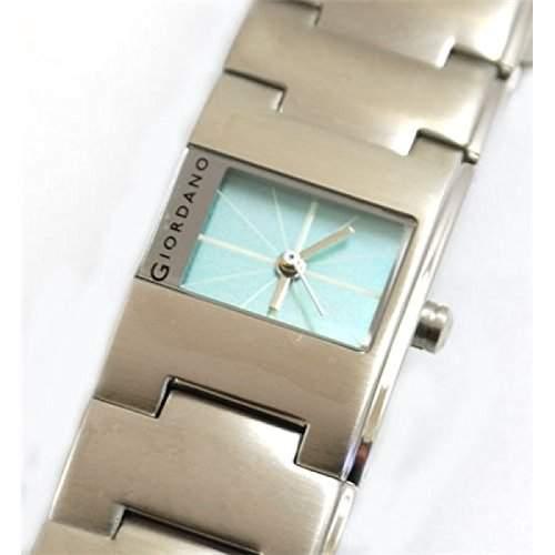 GIORDANO - 2039-3 Damenuhr mit Stahlarmband