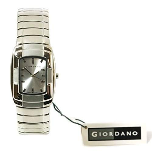 GIORDANO 2055-2 Damenuhr mit Silberfarbigem Zifferblatt