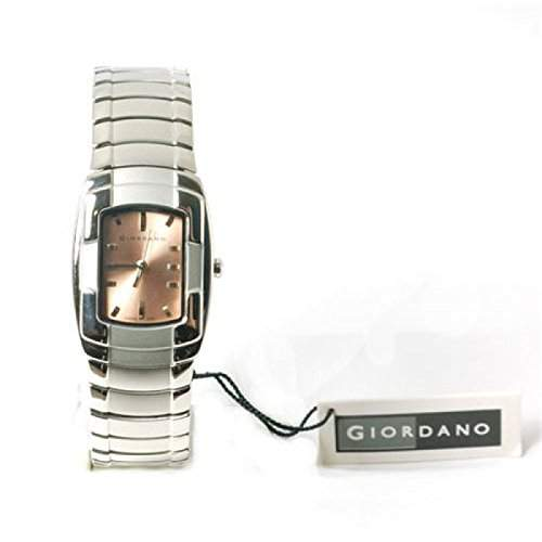 GIORDANO 2055-3 Damenarmbanduhr mit Braunem Zifferblatt