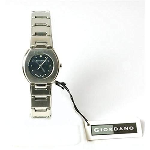 GIORDANO 2073-1 Silberfarbige Damenarmbanduhr