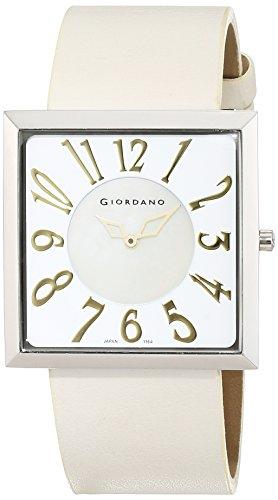 Giordano Damen Armbanduhr Analog Quarz Leder 1164 05