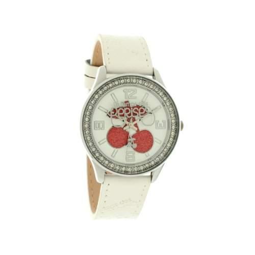 Le Temps des Cerises Damen-Armbanduhr TC46 Analog Quarz Weiss TC46WTC