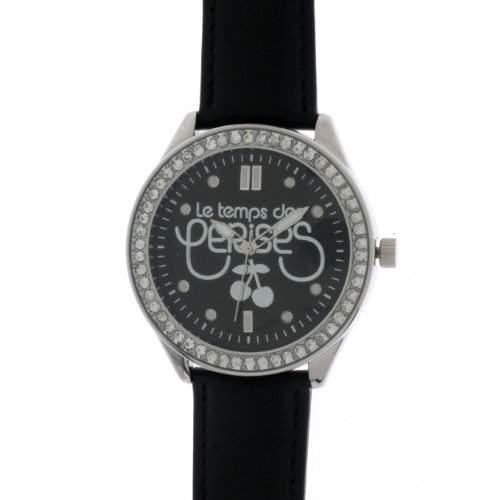Le Temps des Cerises Damen-Armbanduhr TC54 Analog Quarz Schwarz TC54BKC