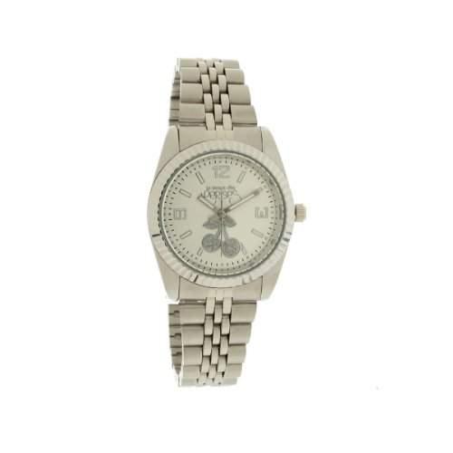 Le Temps des Cerises Damen-Armbanduhr Tc Caps Silver Analog Quarz Silber TCA03SLMS