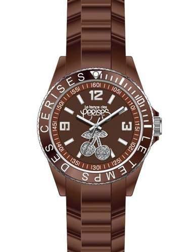 Le Temps des Cerises Damen-Armbanduhr TC16 Analog Quarz Resin TC16BRRB