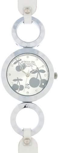 Le Temps des Cerises Damen-Armbanduhr TC44 Analog Quarz Leder TC44SLC