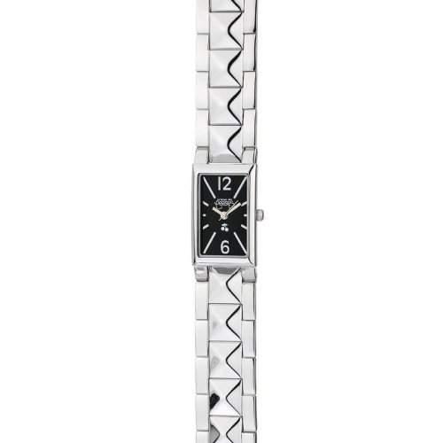 Le Temps des Cerises Damen-Armbanduhr Analog Quarz Edelstahl TC30BKM