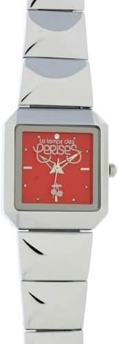 Le Temps des Cerises Damen-Armbanduhr Analog Quarz Edelstahl TC47RDM