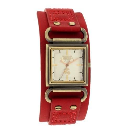 Le Temps des Cerises Damen-Armbanduhr TC95 Analog Quarz Rot TC95BDC