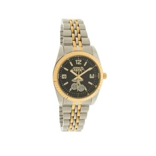 Le Temps des Cerises Damen-Armbanduhr Tc Caps Bicolor Analog Quarz Mehrfarbig TCA02BKMS