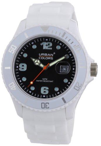 Urban Colors Unisex Armbanduhr Classic Analog Silikon 360290 63