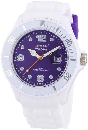 Urban Colors Unisex Armbanduhr Classic Analog Silikon 360290 66