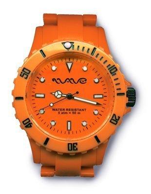Wave Gear Unisex Armbanduhr Analog Kunststoff orange Oc1001OO