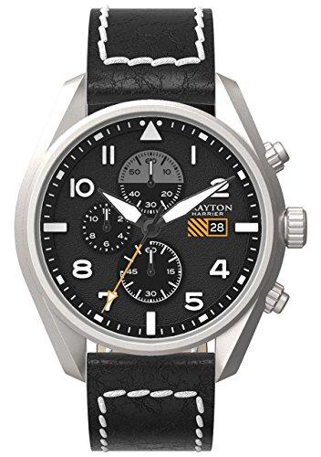 Grayton Herren Armbanduhr Harrier Analog Quarz Leder GR 0014 006 1