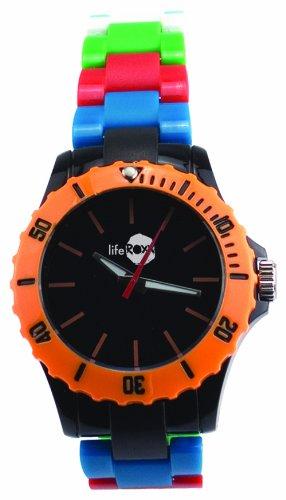 Liferoxx Watch Unisex Armbanduhr Analog Plastik mehrfarbig LG009