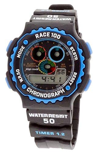 Digi Tech Herren Armbanduhr DT102909