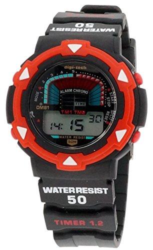 Digi Tech Herren Armbanduhr DT102920