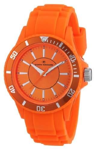 TOM TAILOR Unisex-Armbanduhr Analog Quarz Silikon 5407901