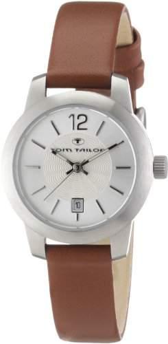 TOM TAILOR Damen-Armbanduhr XS Analog Quarz Leder 5406403