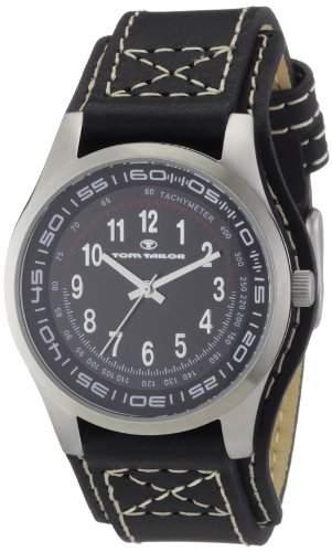 TOM TAILOR Damen-Armbanduhr Analog Leder 5406801