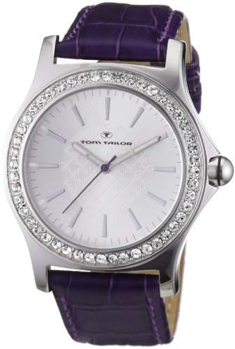TOM TAILOR Damen-Armbanduhr Analog Leder 5407101